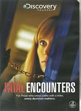 FATAL ENCOUNTERS DVD - 3 DVD BOX SET - ALL 10 GRIPPING EPISODES FROM SEASON ONE
