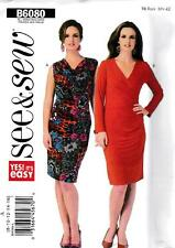 PATRON DE COUTURE BUTTERICK SEE & SEW FEMMES' ROBE OUI SA FACILE TAILLE 8 16 #