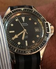 YEMA SUPERMAN QUARTZ VINTAGE DIVERS WATCH IMMACULATE