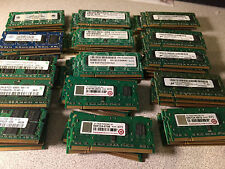 Lot of 76 Assorted 1GB PC2-5300S DDR2 667MHz Laptop RAM Memory SODIMM Modules