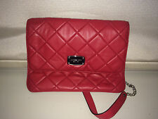 Michael Kors Quilted Red Purse