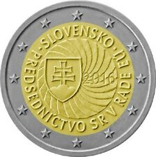Slovakia / Slowakei - 2 Euro Presidency of the Slovak Republic of Council of EU