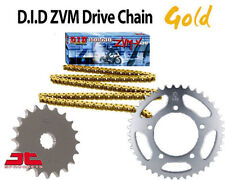 Yamaha YZF R1 09-12 DID HEAVY DUTY GOLD X-Ring Chain and Sprocket Kit