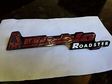 Lamborghini Diablo Roadster, Rear Metal Script Badge Logo