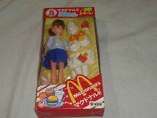 NEW IN BOX MCDONALDS TAKARA DOLL JAPAN IMPORT RARE LICCA 1986 VINTAGE NIB BARBIE