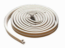 New MD Building Products 63628 All-Climate EPDM Weatherstrip D Strip 17ft White