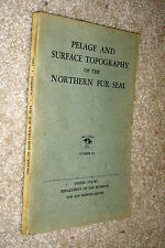 Pelage Surface Topography of Northern Fur Seal,Scheffer,VG-,SB,1962,First   b15
