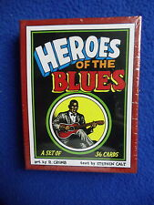 ~ R. CRUMB ~ HEROES OF THE BLUES 36 CARD SET ~ 1991~ HARD TO FIND! ~ LAST ONE! ~