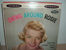 HOLIDAY SALE:   ROSEMARY CLOONEY   SWING AROUND ROSIE  RARE 1959 CORAL ST LP NM-