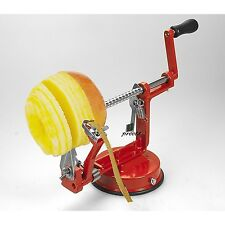 3 in 1 RED Aluminium Apple Peeler Corer Slicer Cutter Machine