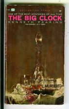 THE BIG CLOCK by Fearing, Ballantine #F606 crime noir pulp vintage pb