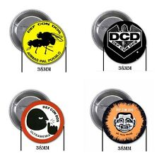 Def con Dos - 4 chapas, pin, badge, button