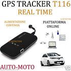 LOCALIZZATORE SATELLITARE GPS TRACKER GSM GPRS ANTIFURTO TRACKER REALTIME