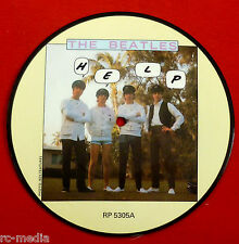 "BEATLES - Help - Rare 7"" Picture Disc (20th Anniversary) (Vinyl Record)"