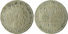 GUADELOUPE  ,  50  CENTIMES  1903