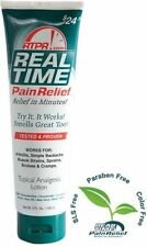 Real Time Pain Relief 5 oz Tube STOP PAIN NOW!!! PENETRATES ALL 7 LAYERS OF SKIN