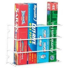 Kitchen Cabinet Door Wrap Rack. Wall Mount Closet Pantry Organizer Storage Shelf