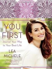 You First: Journal Your Way to Your Best Life by Lea Michele (Journal ) NEW