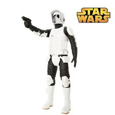 "NEW Star Wars Scout Trooper 18"" Big Action Figure & Hand Gun - High Detail - UK"