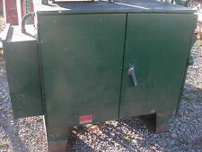 KENNEDY OUTSIDE ELECTRICAL CONTROL PANEL / JUNCTION BOX WITH SUBPLATES