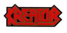 KREATOR woven patch LOGO patch ♫ Thrash Metal ♪ Big Teutonic Four ♫