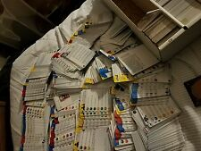 Heroclix lot of 1000 cards (CARDS ONLY) NM  wow huge! Marvel and DC