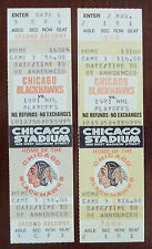1981 NHL Playoffs Chicago Black Hawks Game Ticket / Game 3 Chicago Stadium