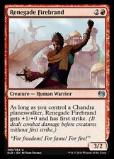 PRESALE-9/30 Renegade Firebrand NM X4 Kaladesh Red Uncommon MTG STANDARD LEGAL
