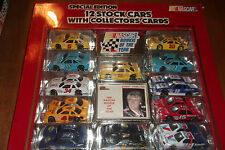 NASCAR 12 CAR SPECIAL EDITION WITH COLLECTOR CARDS RACING CHAMPIONS  1:64 (69)