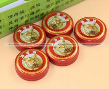 5 x Chinese Tiger Balm Red Herbal Rub Muscles Pain Relief Headache 3g