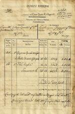 Comune di Pieve Rossa di Bagnolo - Domini Estensi - Volture d'Estimo 1841