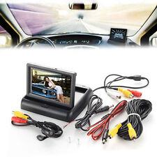 """4.3"""" Car Rear View Kit LCD Monitor +170°Car Reversing Backup Camera Night Vision"""
