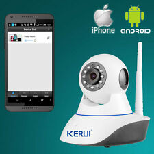 720P WiFi HD IP Camera for WiFi GSM Home Intruder Burglar Alarm System Security