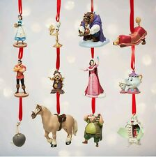 Limited Edition Beauty and the Beast Deluxe Disney Sketchbook Ornament Set