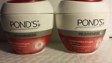 2  POND'S CREAM REJUVENESS AGAINST WRINKLES NIGHT AND DAY 7 OZ EACH MEXICO