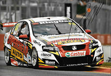 Russell Ingall SIGNED 12x8, Holden VE Commodore ,Clipsal 500 Adelaide 2013.