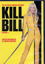 KILL BILL Volume 1 DVD Quentin Tarantino