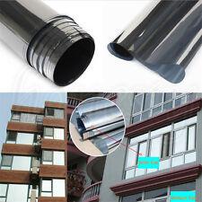 18% Silver Insulation Stickers Reflective Window Film One Way Mirror 50cm *1m