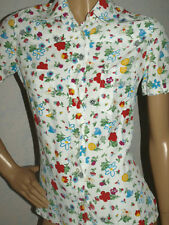 NET-A-PORTER RARE MOSCHINO BLOUSE TOP SIZE UK 8/10