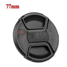 New 77mm Center Pinch snap on lens cap for lens / filters