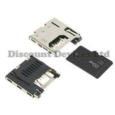 8p Micro SD Card/Smartcard Shielded SMD Connector/Socket  2908-05-WB-MG