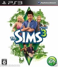 Used PS3 The Sims 3 SONY PLAYSTATION 3 JAPAN JAPANESE IMPORT