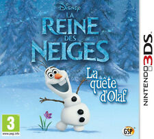 Disney Frozen: Olaf's Quest (Nintendo 3DS, 2013)CHEAP PRICE FREE POST NEW,!!!