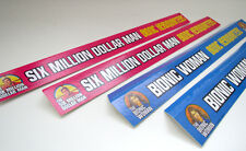 SIX MILLION DOLLAR MAN & BIONIC WOMAN REPODUCTION SHELF TALKERS