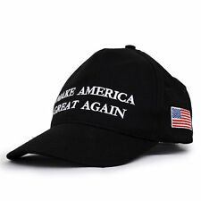 2016 Make America Great Again Hat Donald Trump Republican Win Hat Black