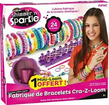 CraZArt Shimmer n Sparkle Cra-Z-loom  Bracelet maker - rubber band maker