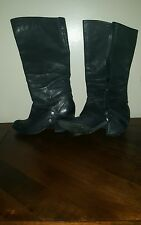 Fergie lether boots