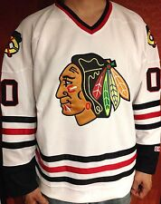 52/XL GRISWOLD Clark Christmas Movie Chicago Blackhawks #00 CCM Hockey Jersey
