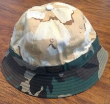 10 DEEP ARMY PRINT BUCKET HAT 2 TONE!!!