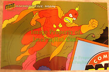 "Radioactive Man Poster 20"" x 13"" - New Never Displayed Homer Simpson"